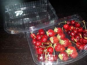 Casolete pentru fructe
