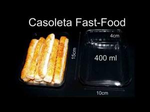 Casolete pentru fast-food