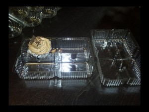Casolete compartimentate prajituri